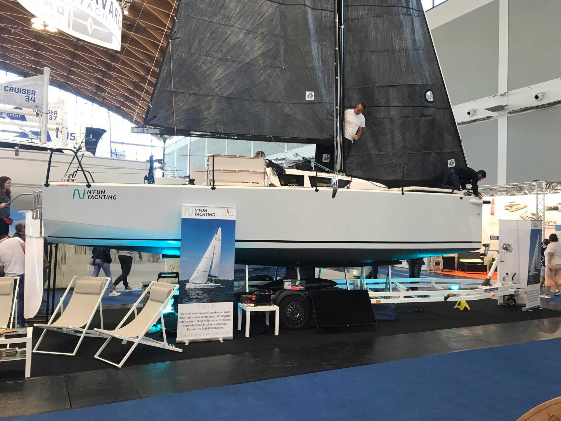Interboot 2019 in Friedrichshafen and test for YACHT.de magazine