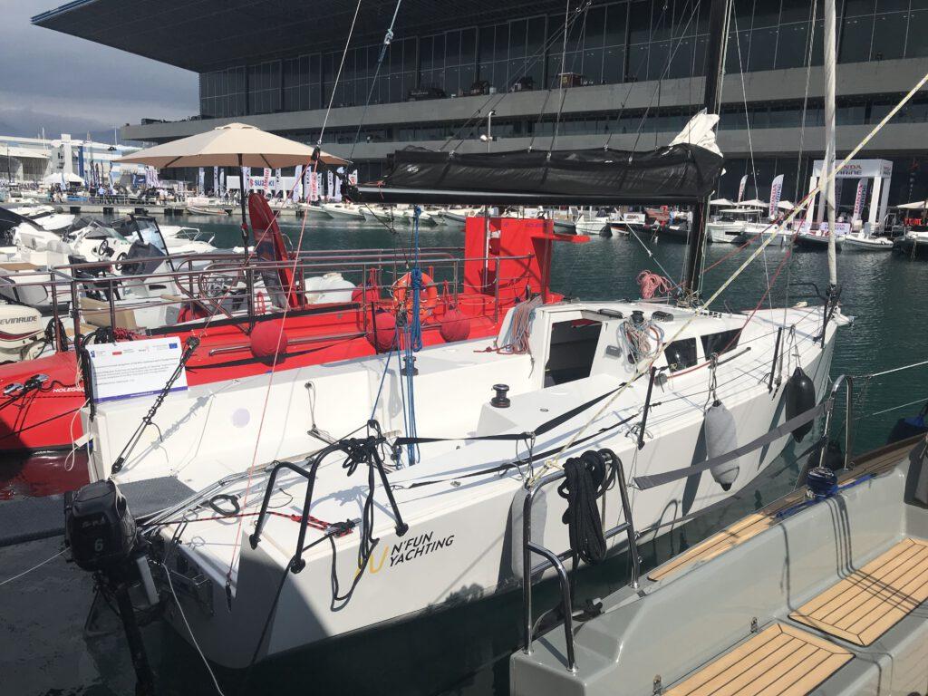 Daysailer, lifting keel N Fun 30
